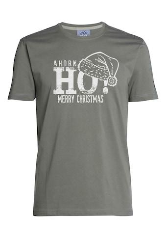 AHORN SPORTSWEAR T - Shirt mit modischem Weihnachtsmotiv kaufen