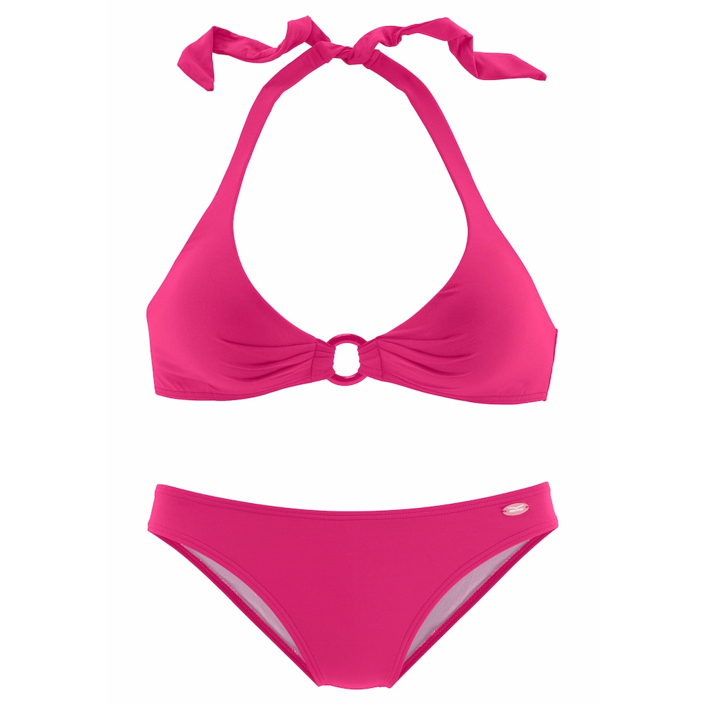 Venice Beach Triangel-Bikini, mit Zierring zwischen den Cups
