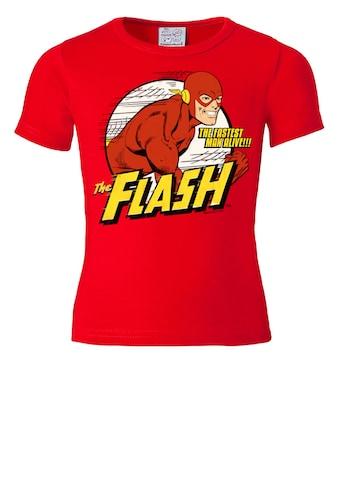 LOGOSHIRT T - Shirt mit coolem Superhelden - Print »The Fastest Man Alive« kaufen
