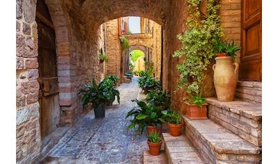 PAPERMOON Fototapete »Ancient City Spello Umbria«, Vlies, in verschiedenen Größen kaufen