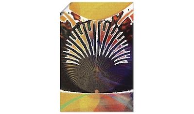 Artland Wandbild »Indigene Königin - Königin der Nacht«, Frau, (1 St.), in vielen Größen & Produktarten - Alubild / Outdoorbild für den Außenbereich, Leinwandbild, Poster, Wandaufkleber / Wandtattoo auch für Badezimmer geeignet kaufen