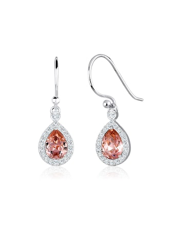 Elli Paar Ohrhänger »Tropfen Ohrhänger Kristalle 925 Silber« kaufen