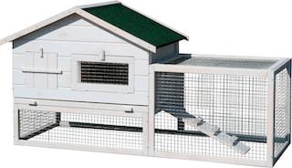 dobar kleintierstall bxtxh 155x60x86 cm mit. Black Bedroom Furniture Sets. Home Design Ideas