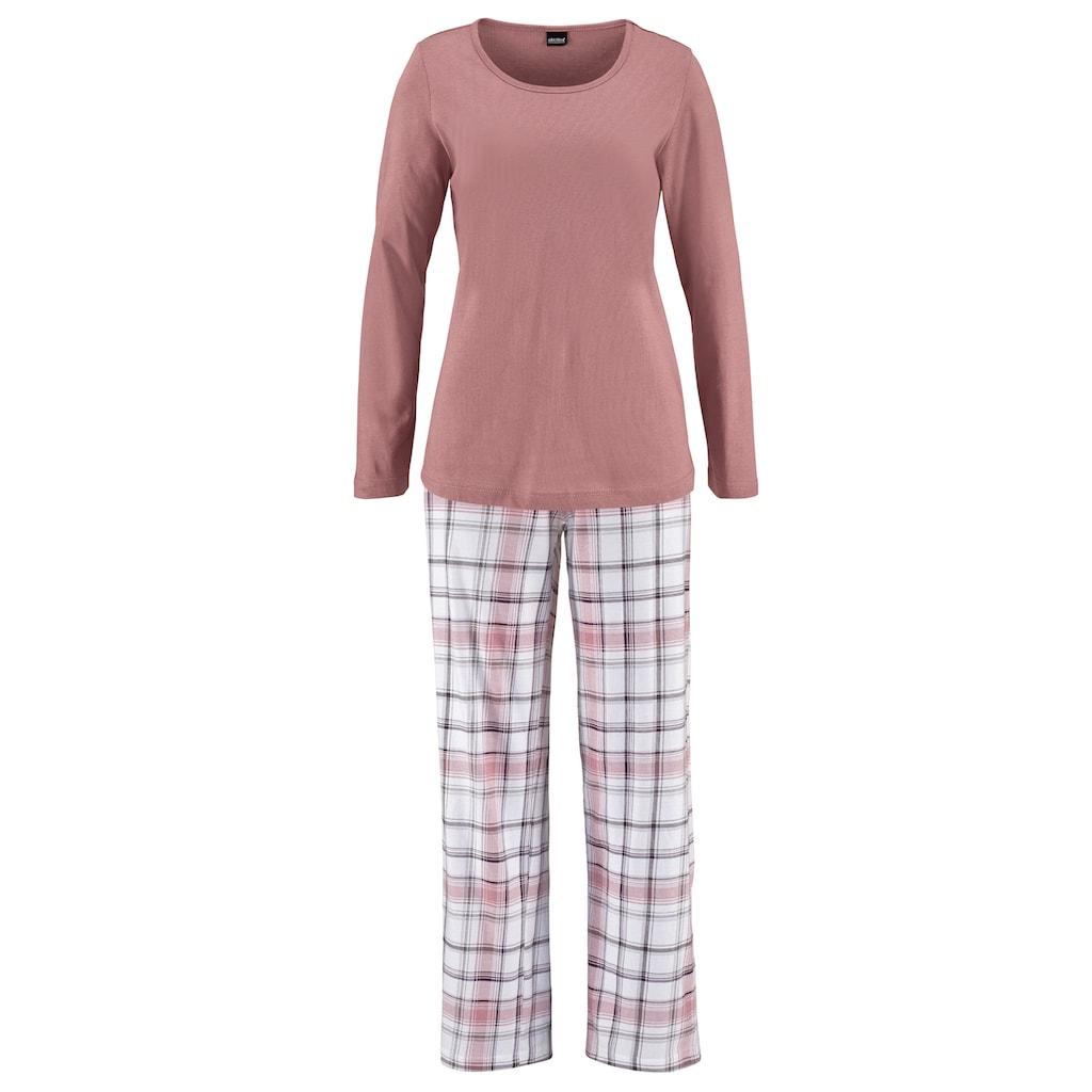 Arizona Schlafanzug, mit Hose im Karodesign