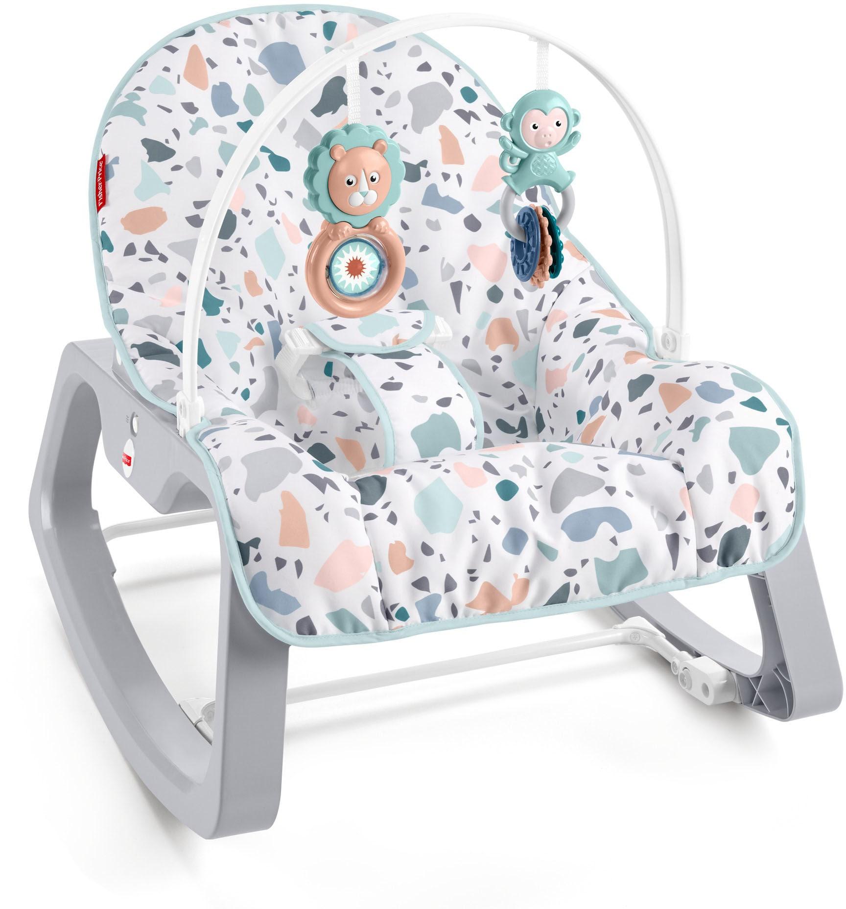 Fisher-Price Babyschaukel Baby Schaukelsitz bunt Schaukel Wippen Outdoor-Spielzeug Babywippen