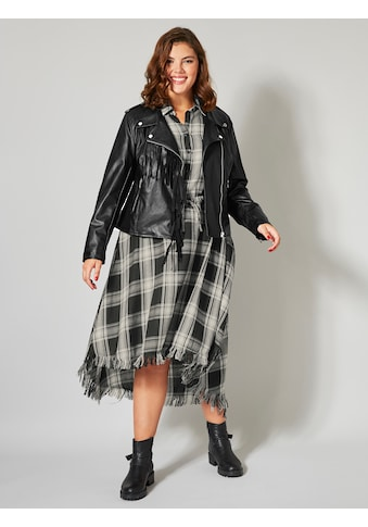 Angel of Style Lederimitat-Jacke mit Fransen kaufen