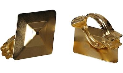 Dekoklammer »Rhombus«, Liedeco, passend für Gardinen Vorhänge (Packung) kaufen