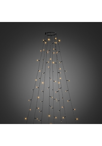 KONSTSMIDE LED-Lichtervorhang, 400 St.-flammig, LED Baummantel mit Ring Ø 15, 8... kaufen
