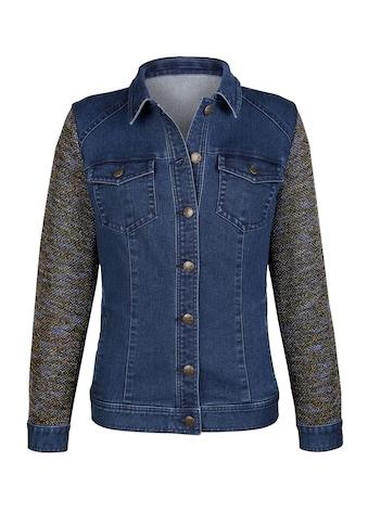 Dress In Jeansjacke in Materialmix kaufen