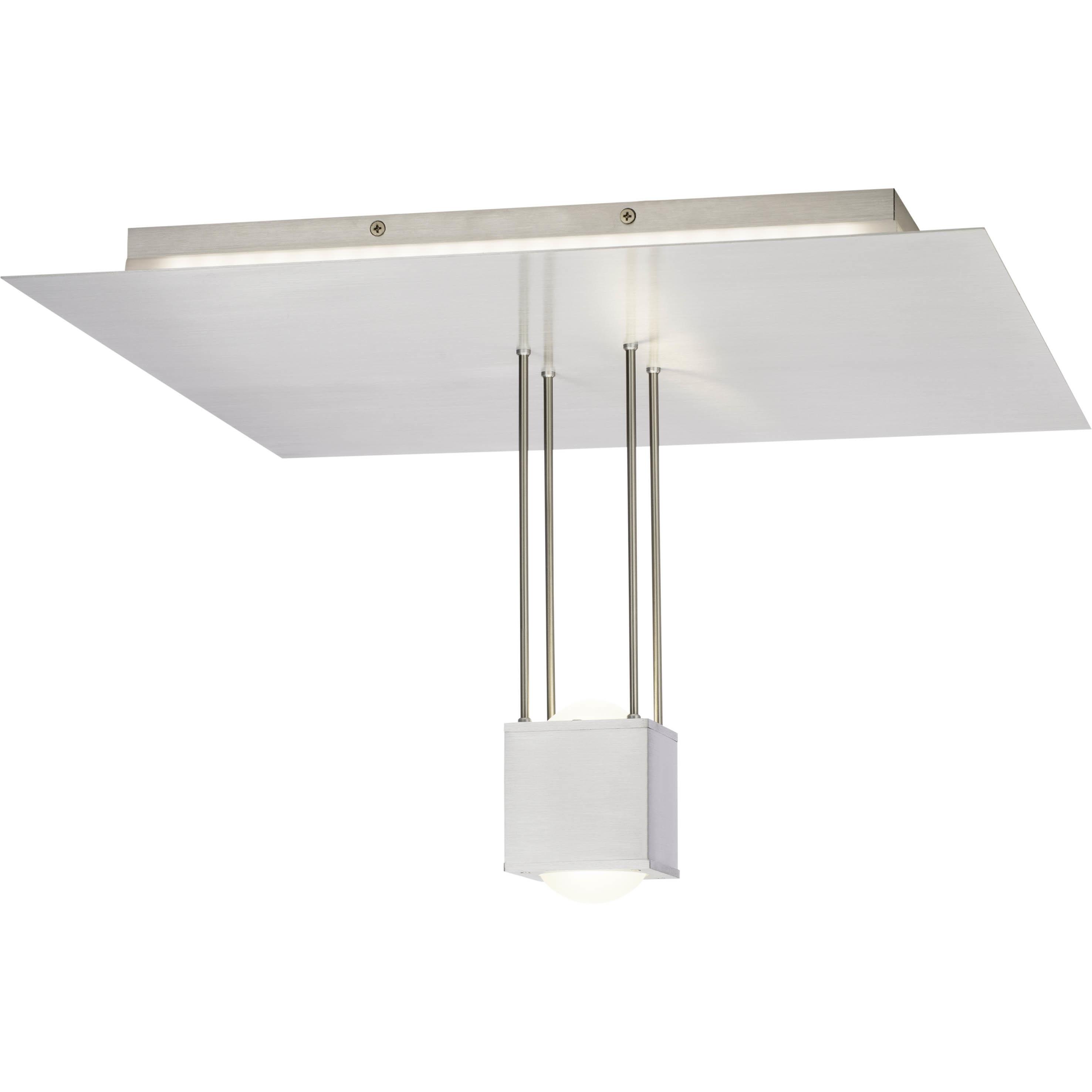 Brilliant Leuchten Lens LED Deckenleuchte eisen