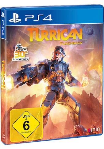 PlayStation 4 Spiel »Turrican Flashback«, PlayStation 4 kaufen