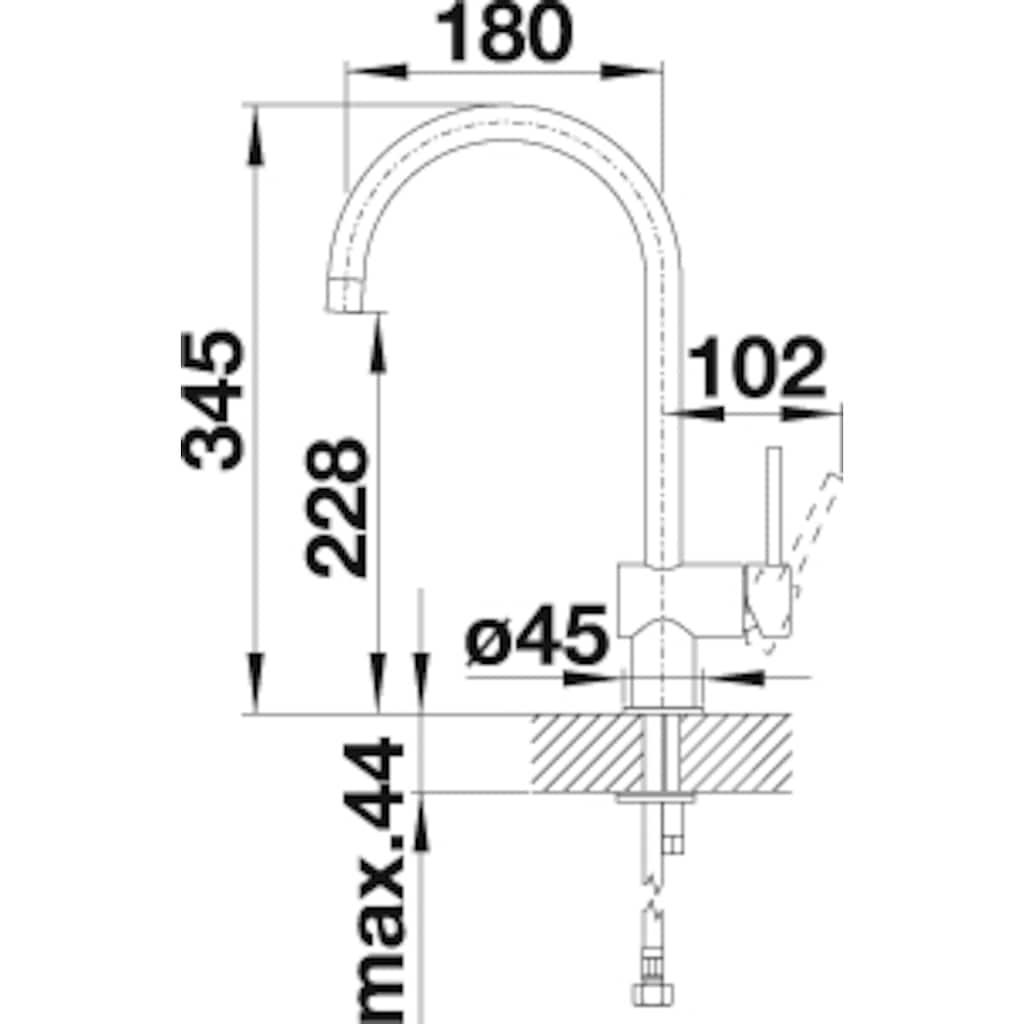 Blanco Küchenarmatur »FILO«, Hochdruck