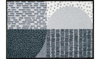 wash+dry by Kleen-Tex Fußmatte »Montos«, rechteckig, 7 mm Höhe, Schmutzfangmatte kaufen