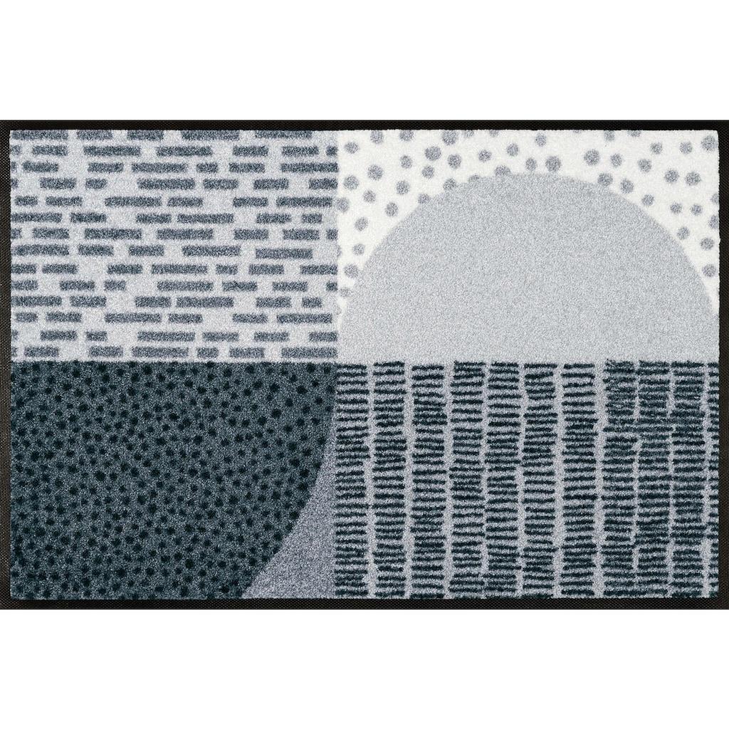 wash+dry by Kleen-Tex Fußmatte »Montos«, rechteckig, 7 mm Höhe, Schmutzfangmatte