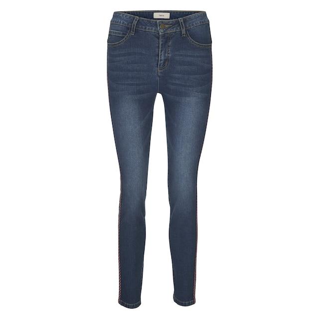 Bauchweg-Jeans Aleria mit Seitenstreifen