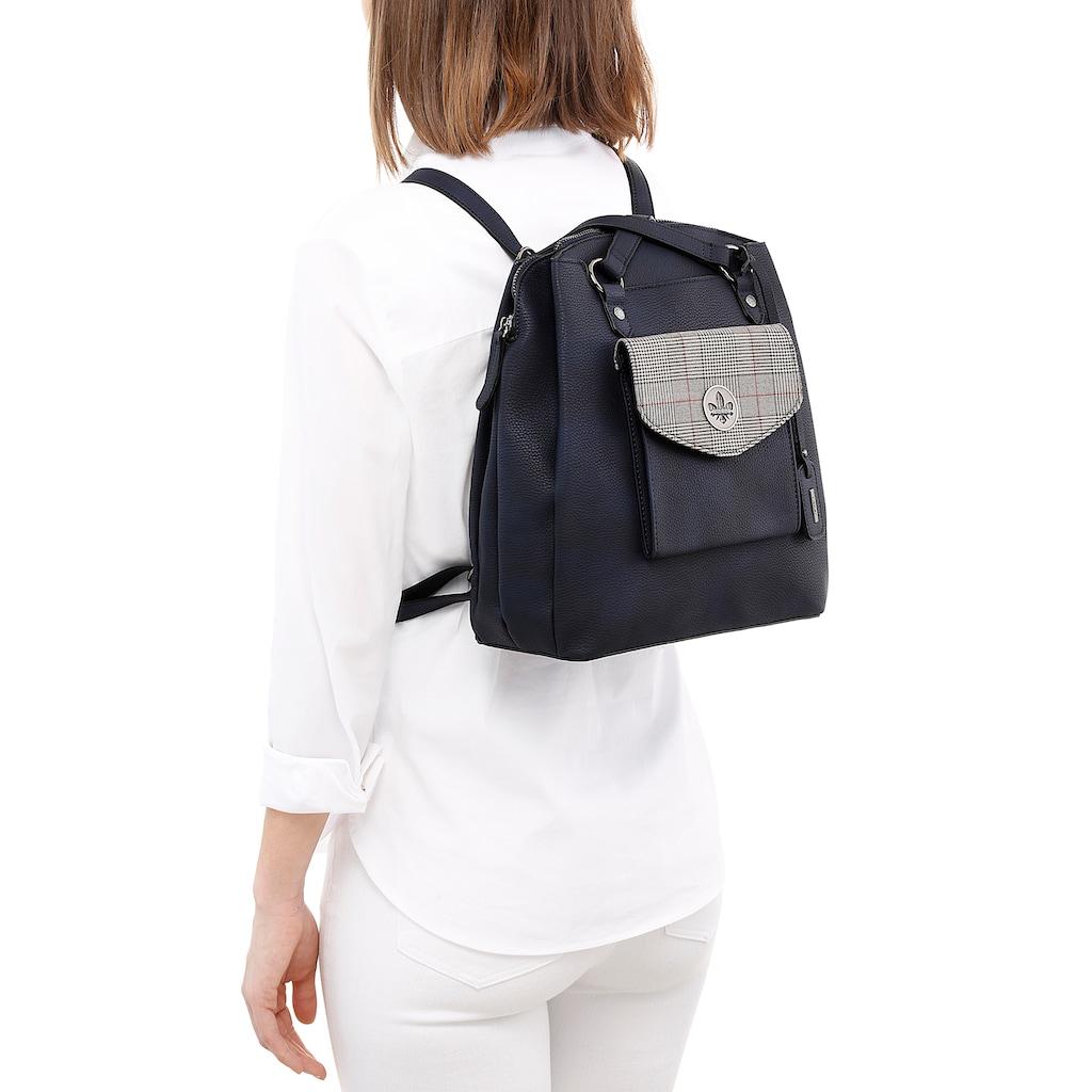 Rieker Cityrucksack, kann auch als Tasche getragen werden