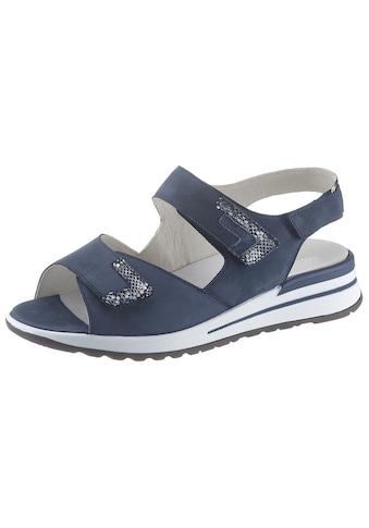 Sandale mit trittdämpfendem Klett - Wechselfußbett kaufen