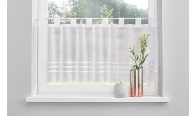 my home Scheibengardine »Kira«, mit Satinbändern kaufen
