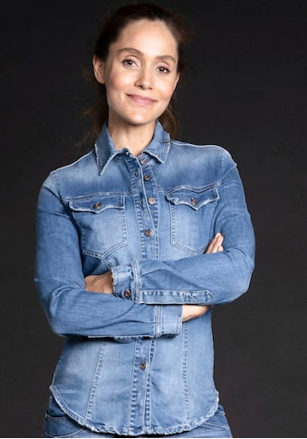Please Jeans Jeansbluse »C 0FY« kaufen