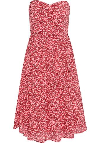 TOMMY JEANS Corsagenkleid »TJW FLORAL BANDEAU DRESS« kaufen