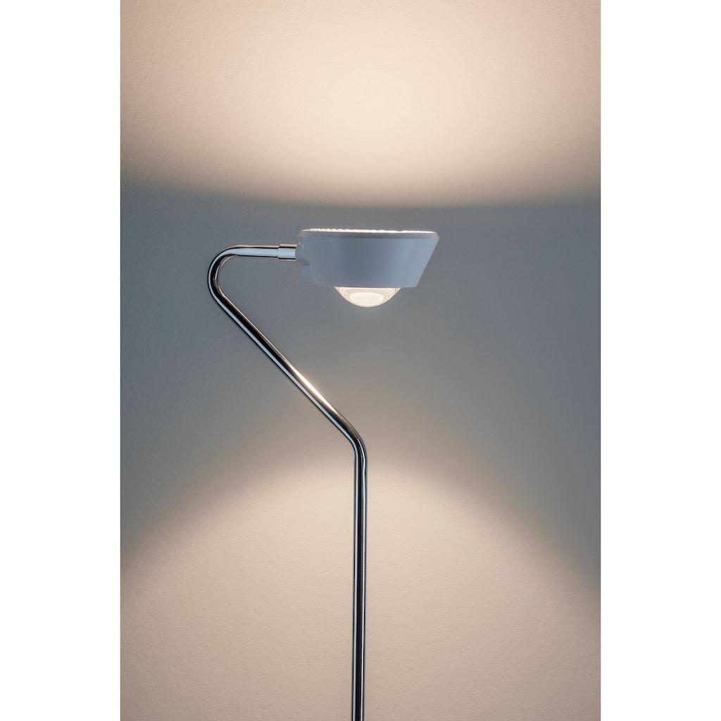 Paulmann LED Tischleuchte »Ramos 8W Weiß matt/Chrom mit Touchdimmer«, 1 St., Warmweiß