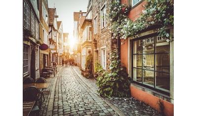PAPERMOON Fototapete »Old Town in Belgium«, Vlies, in verschiedenen Größen kaufen