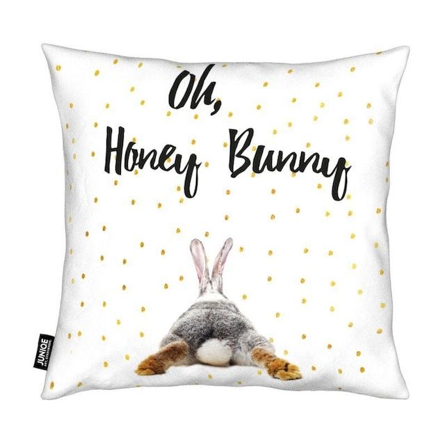 Dekokissen, »Honey Bunny«, Juniqe