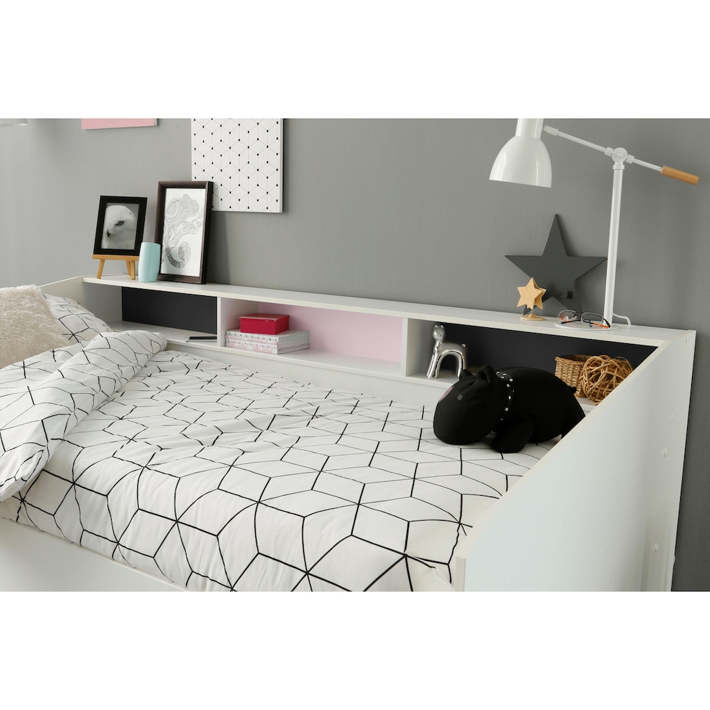 Parisot Jugendzimmer-Set »Sleep«, (Set, 2 St.), Stauraumbett und Schminktisch