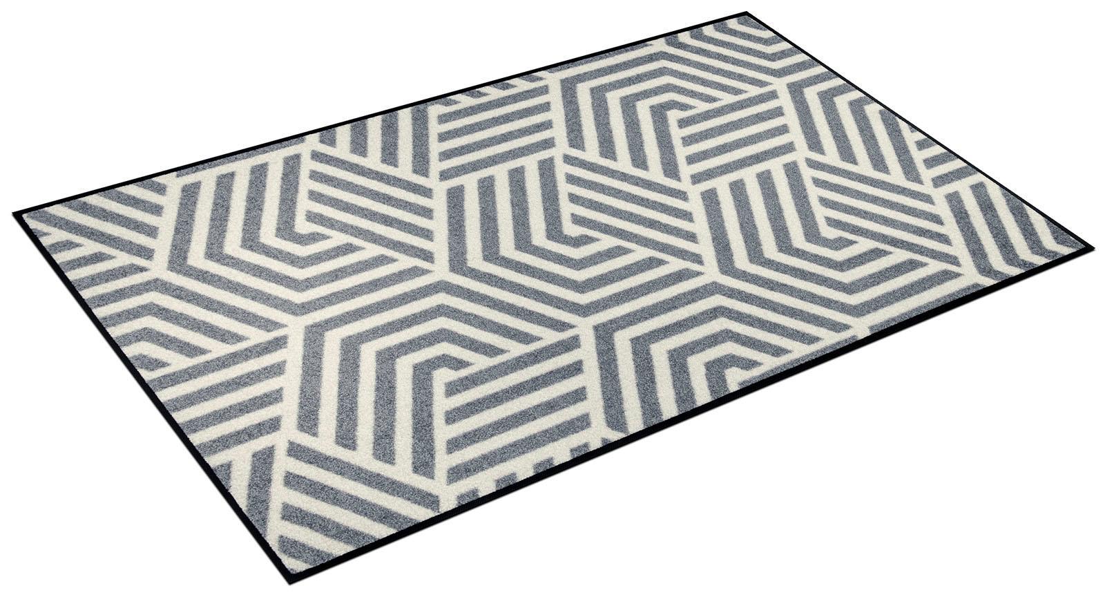 Teppich Odin wash+dry by Kleen-Tex rechteckig Höhe 7 mm gedruckt