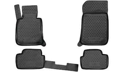WALSER Passform-Fußmatten »XTR«, BMW, 1er, Schrägheck, (4 St., 2 Vordermatten, 2... kaufen