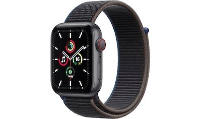 Apple Watch »SE GPS + Cellular, Aluminiumgehäuse mit Sport Loop 44mm«, (inkl.... kaufen