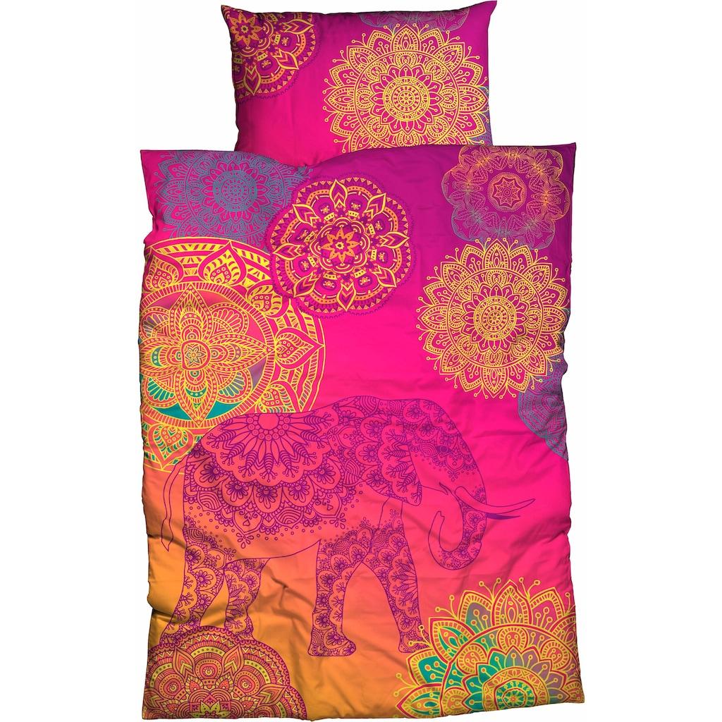 sister s. Bettwäsche »Noida«, mit farbenfrohen Mandalas