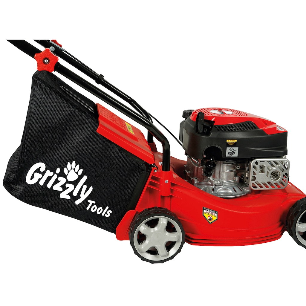 Grizzly Tools Benzinrasenmäher »BRM 4013«, 40 cm Schnittbreite
