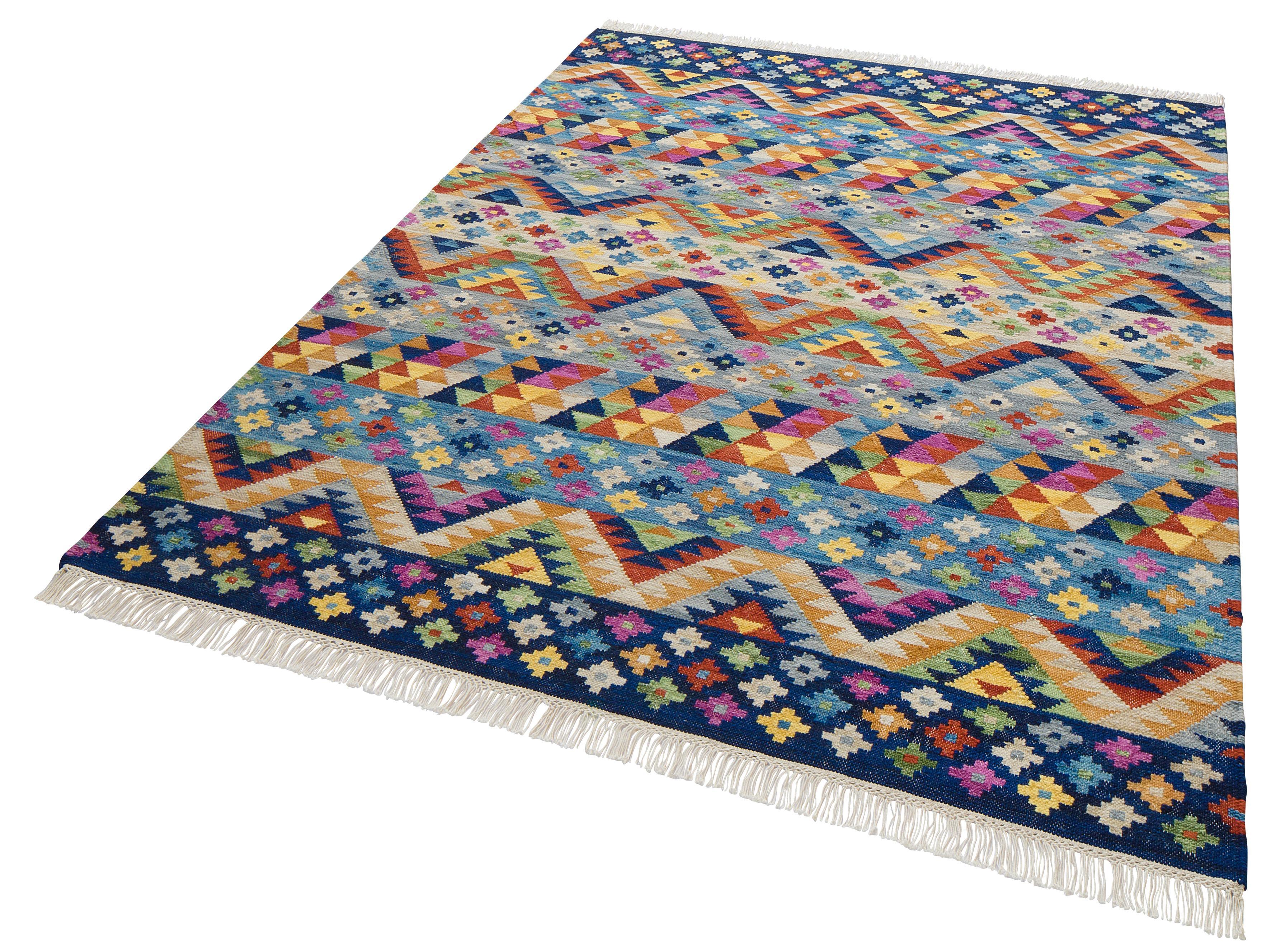 Teppich Koos Theko Exklusiv rechteckig Höhe 8 mm handgewebt