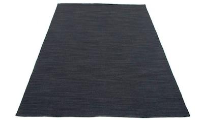 carpetfine Wollteppich »Kelim Loom«, rechteckig, 5 mm Höhe, Wolle/Baumwolle Wendeteppich, Kelim Dorri, Wohnzimmer kaufen