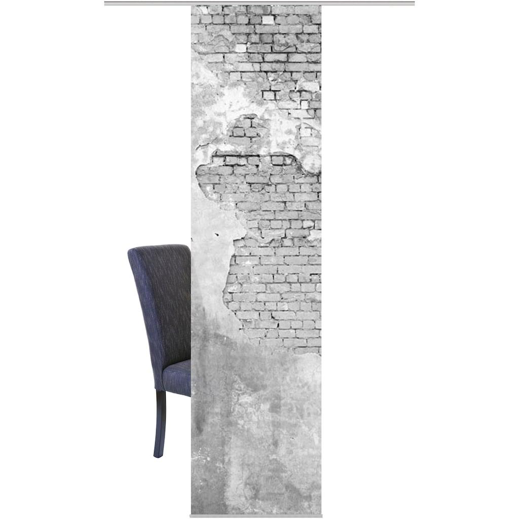HOME WOHNIDEEN Schiebegardine »WALLONA«, HxB: 245x60, Dekostoff Digitaldruck