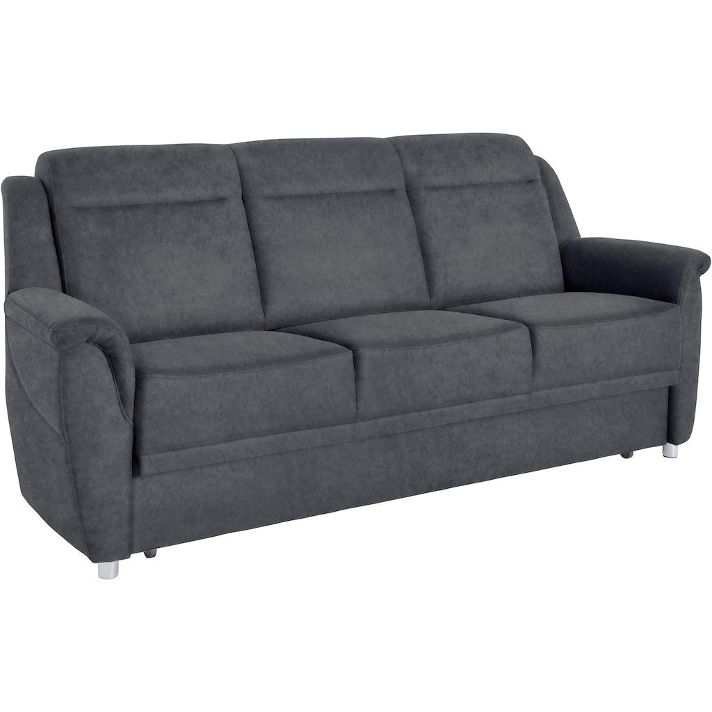 sit&more 3-Sitzer, wahlweise mit Bettfunktion und Bettkasten