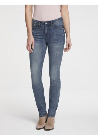Bauchweg - Jeans Aleria mit Destroyed - Effekt kaufen