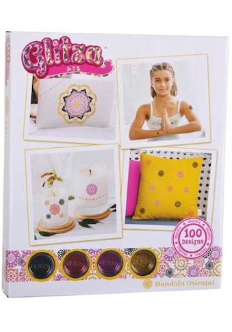 Knorrtoys® Kreativset »GLITZA Mandala Oriental«, (Set), Für alle Oberflächen geeignet kaufen