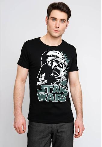 LOGOSHIRT T - Shirt mit markantem Logoprint »Darth Vader« kaufen