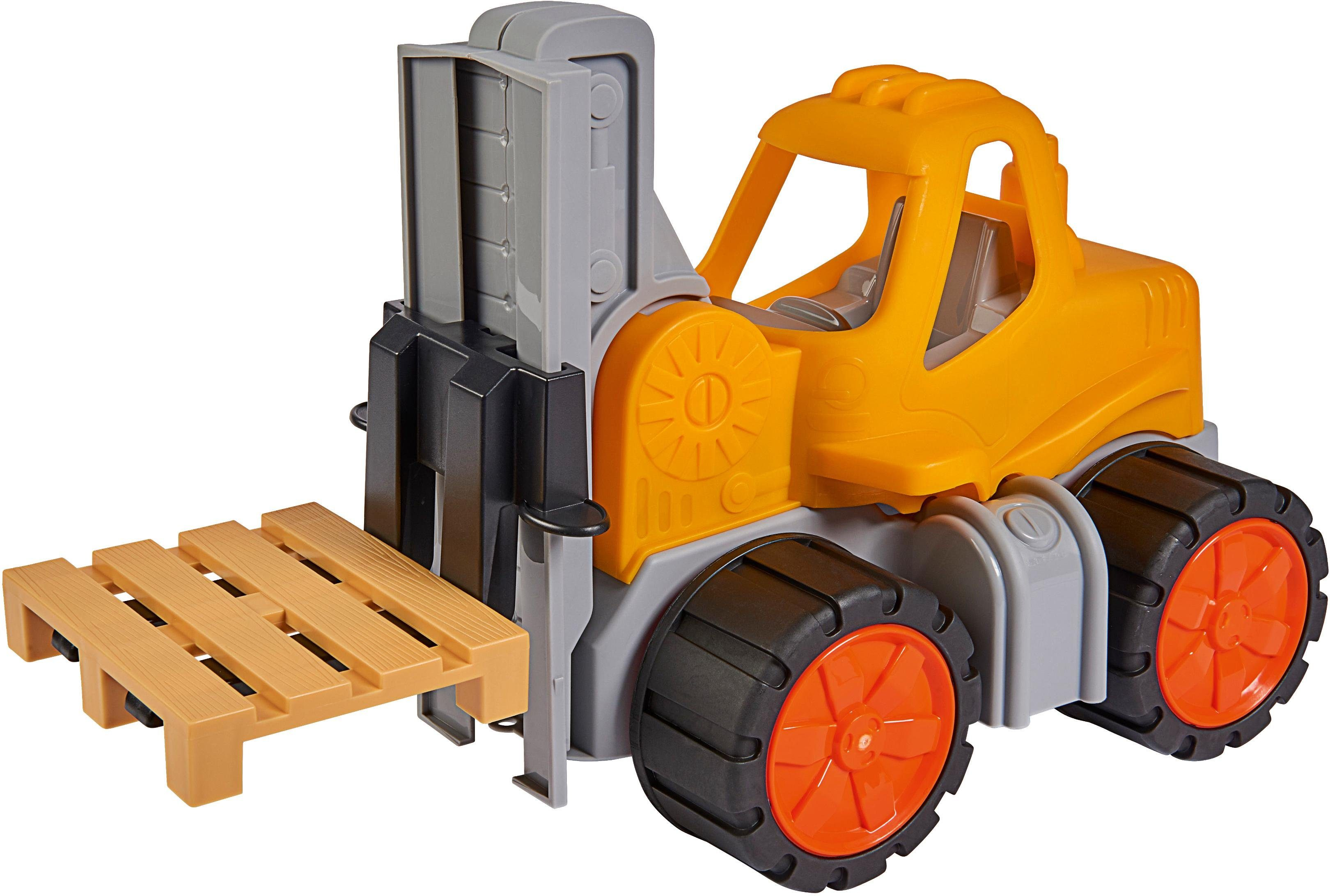 "BIG Spielzeug-Gabelstapler ""BIG Power Worker Gabelstapler"" Kindermode/Spielzeug/Autos, Eisenbahn & Modellbau/Spielzeugautos/Weitere Spielzeugautos"