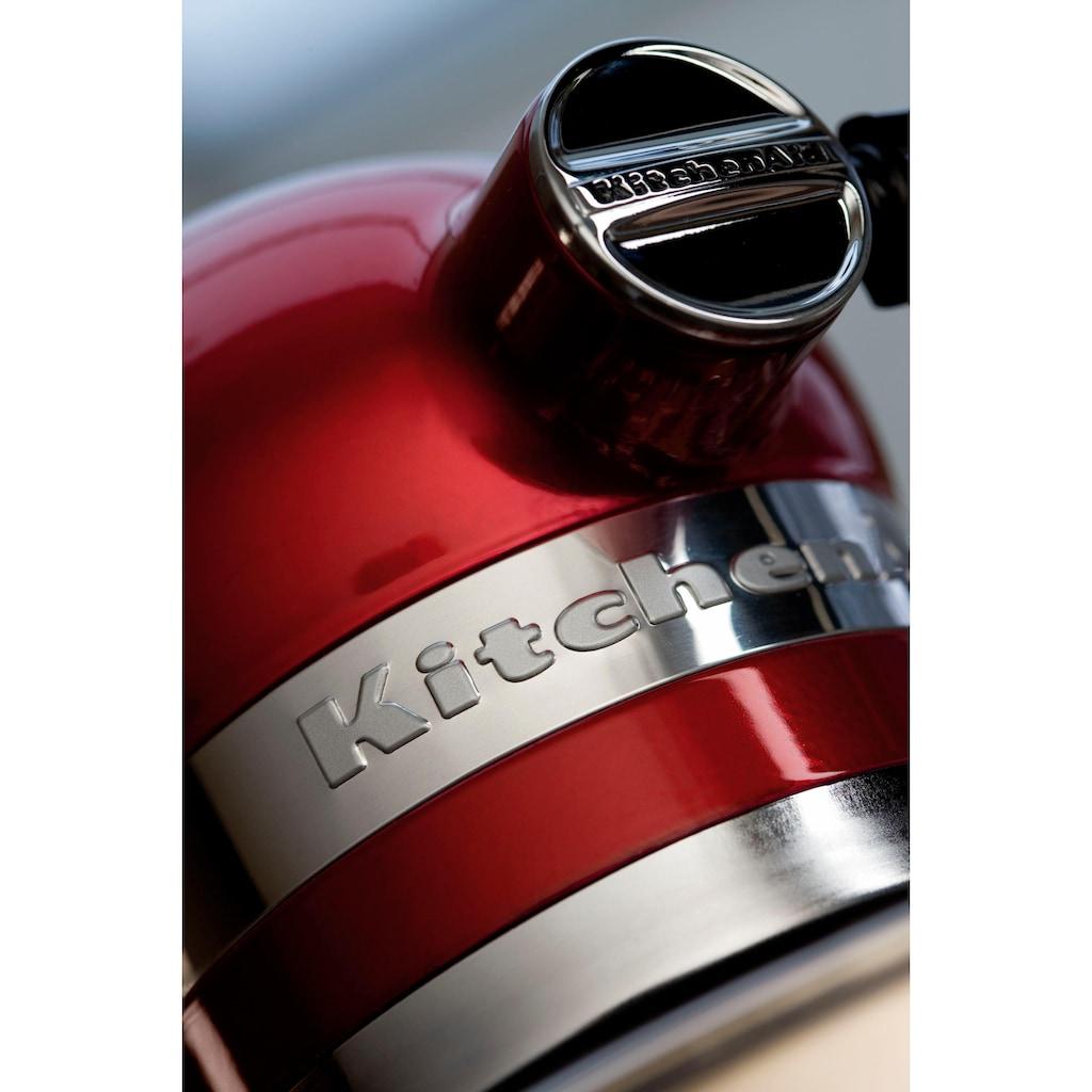 KitchenAid Küchenmaschine »Artisan 5KSM175PSECA«, mit Gratis Wasserkocher, 2. Schüssel, Flexirührer