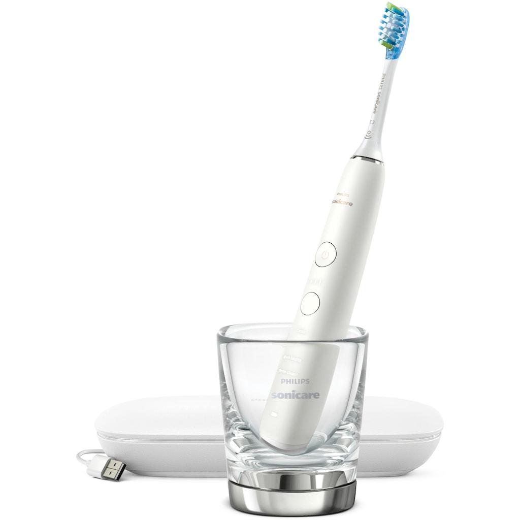 Philips Sonicare Elektrische Zahnbürste HX9911, Aufsteckbürsten: 1 Stk.