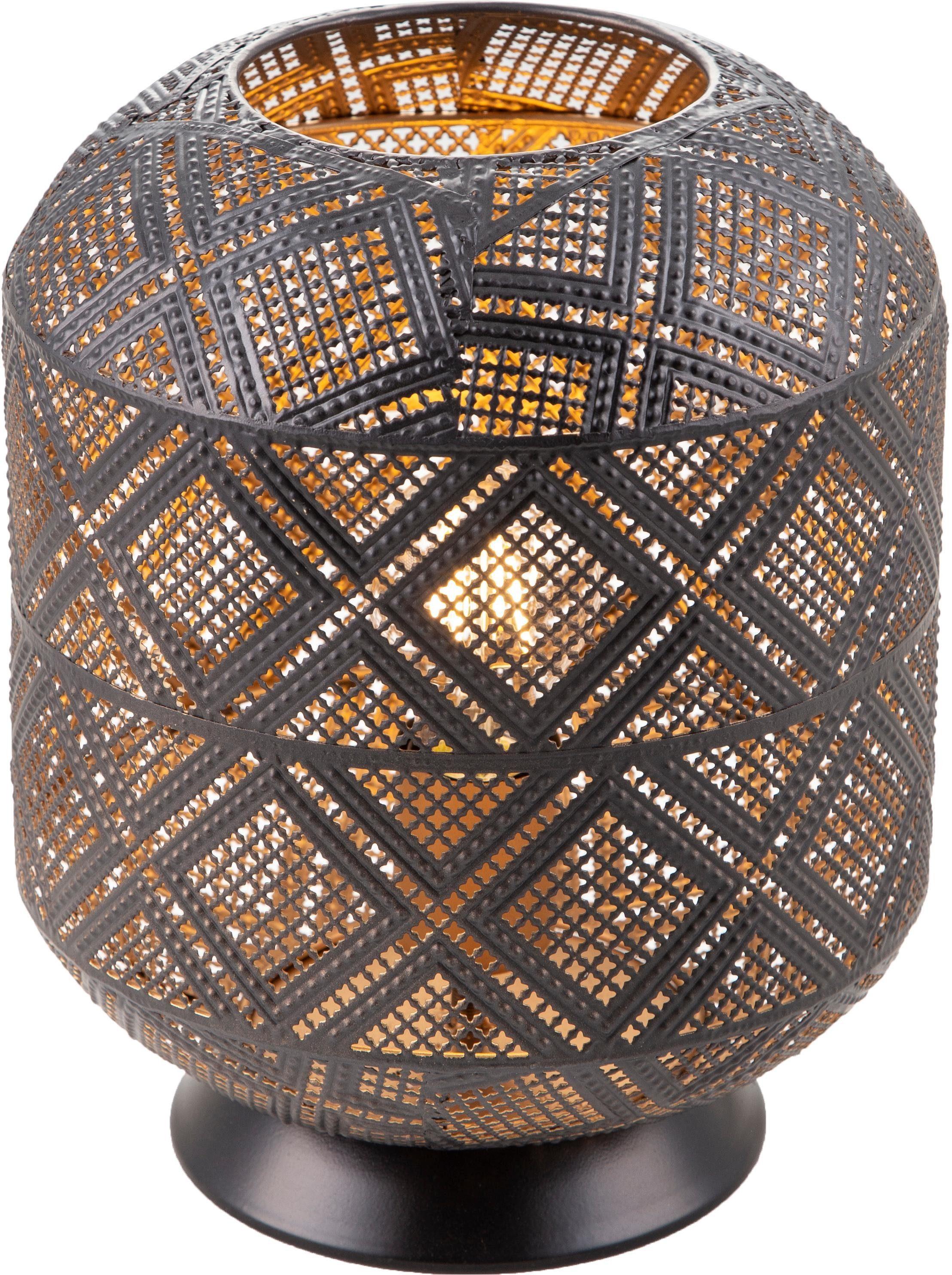 Nino Leuchten LED Tischleuchte Kurla, E27, 1 St., Warmweiß