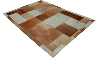 calo-deluxe Fellteppich »Solut 305«, rechteckig, 8 mm Höhe, echtes Rinderfell, Wohnzimmer kaufen