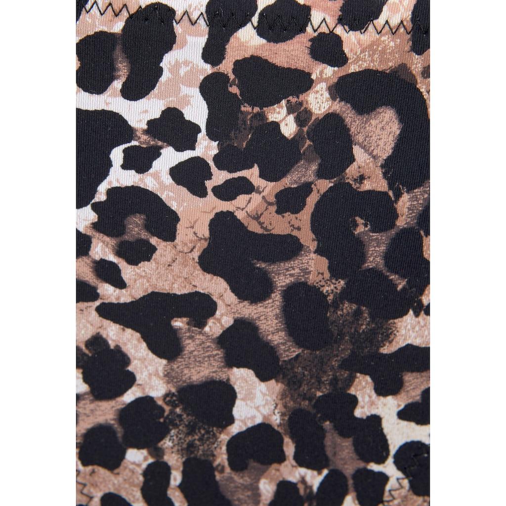 LASCANA Bikini-Hose »Lexa«, in knapper Form und mit Muschelkante