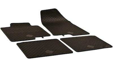 Walser Passform-Fußmatten, Hyundai, i40, Kombi, (4 St., 2 Vordermatten, 2 Rückmatten), für Hyundai i40 Wagon BJ 2011 - heute kaufen