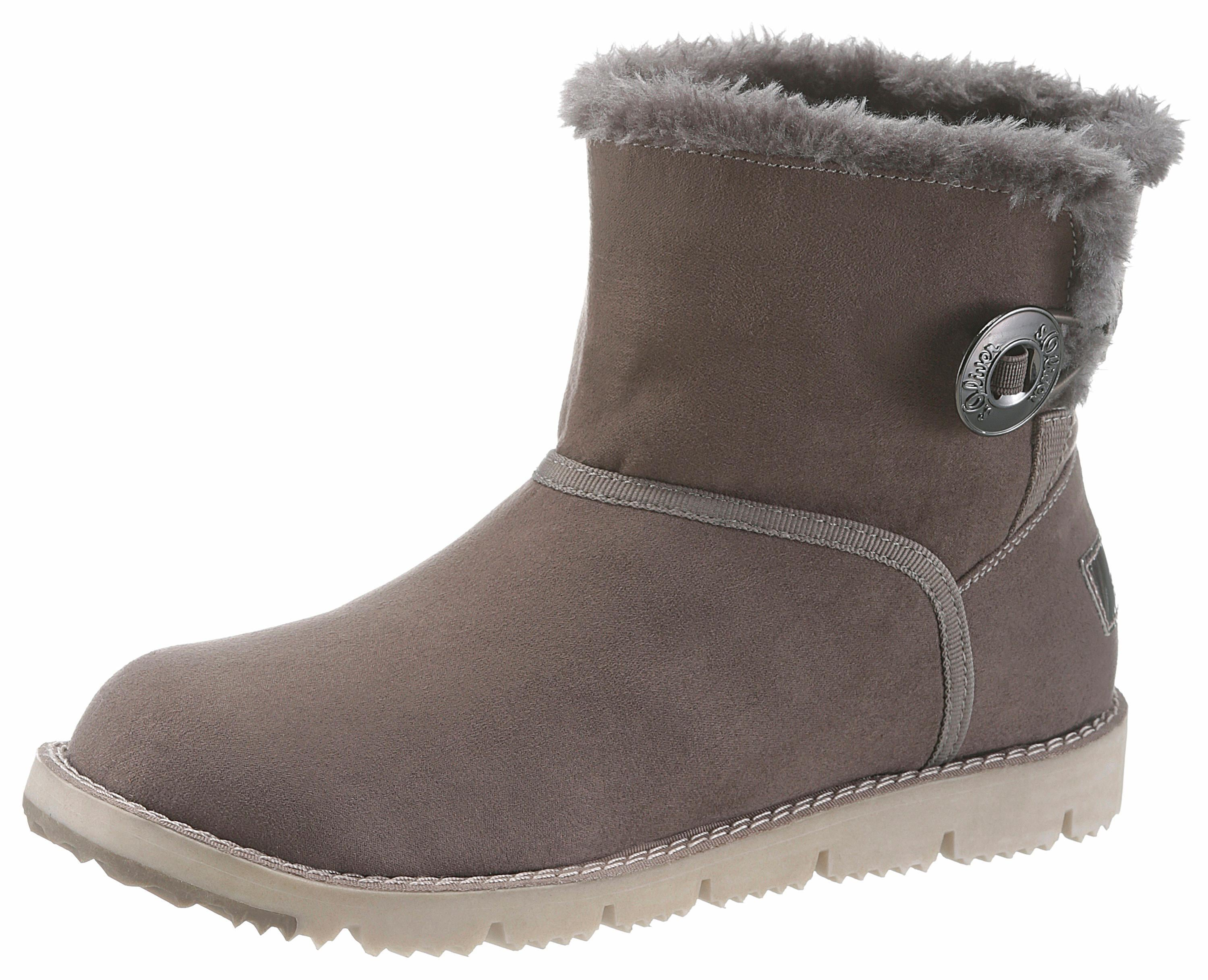 sOliver RED LABEL Winterboots | Schuhe > Boots > Winterboots | Grau | S.Oliver Red Label