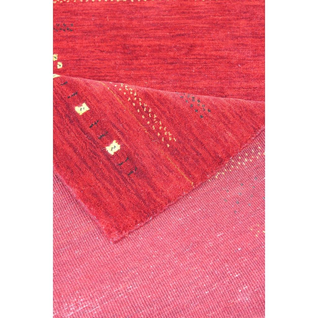 Wollteppich, »Hiska«, Dekowe, rechteckig, Höhe 12 mm, manuell geknüpft
