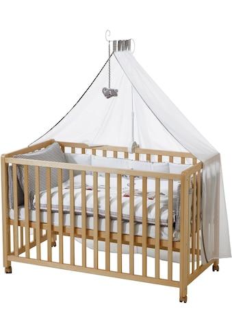 roba® Babybett, »Room Bed, Jumbo twins grau«, 6 - tlg. kaufen